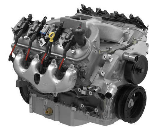 LS376 515 HP engine