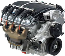 LS7 7 liter engine image